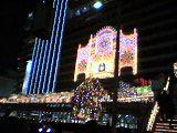 名古屋駅前の電飾