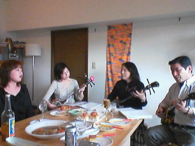 西川口で沖縄料理パーティー