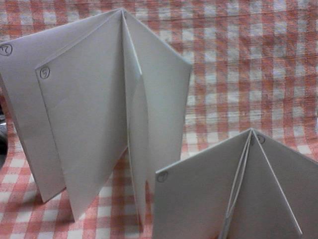 【試作品】紙一枚で作る絵本 またはパンフレット