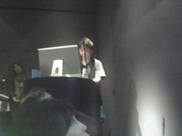 銀座アップルストアでBind2.5の発表を聞く 20090413