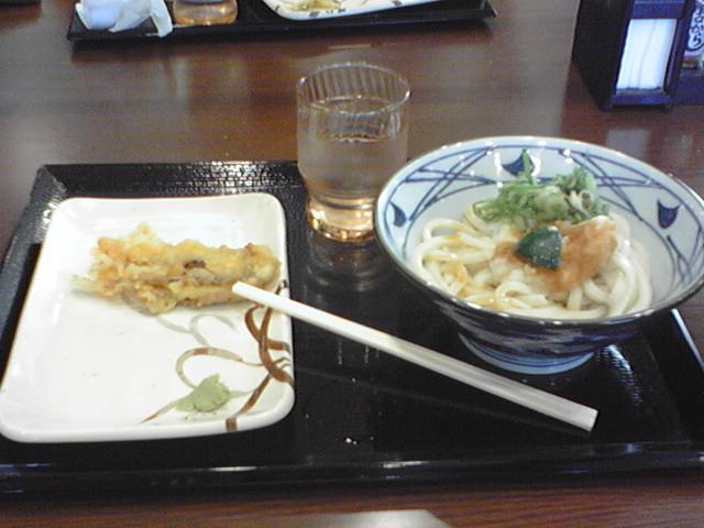 丸亀製麺 小平店 おろし醤油 温もり