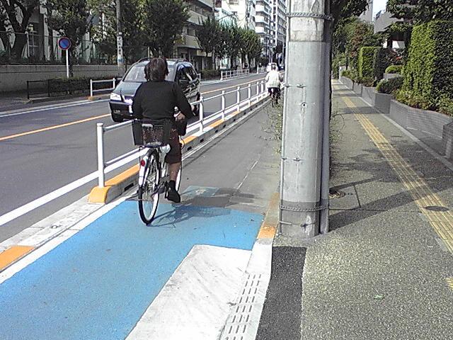 武蔵境南口 自転車道