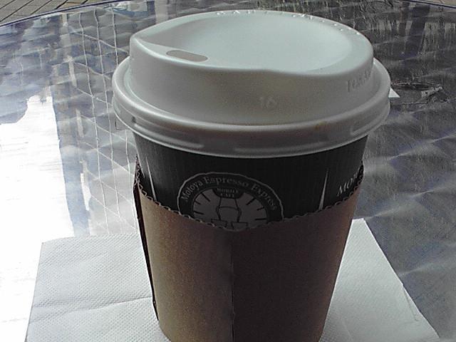 ランチ後のモトヤコーヒー(* ^^)ノ±■