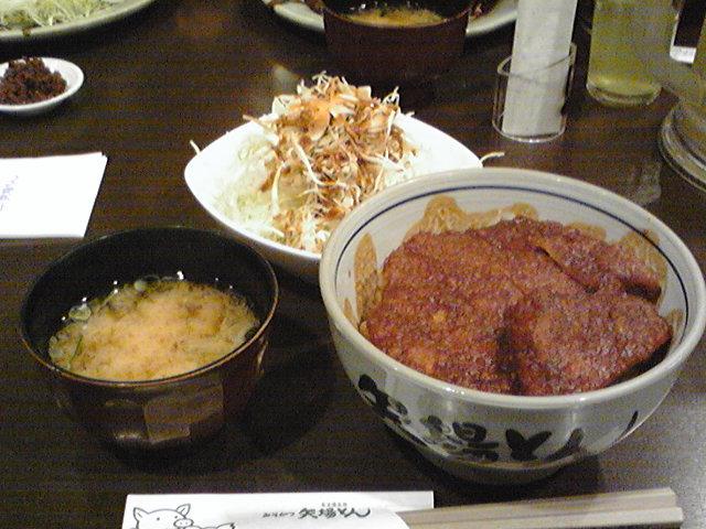 1/17のランチ 矢場とん 名鉄8階